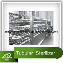 Pasteurisation / stérilisation d'échangeur de plaques stérilisatrices UHT