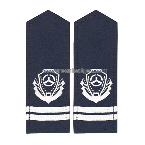 Emblemas do bordado do exército para o Epaulette militar do ombro