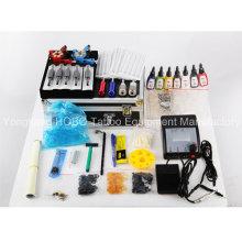 Kits de tatouage professionnel avec des Machines de tatouage pistolet d'alimentation accessoires