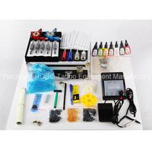 Professional Tattoo Kits with Tattoo Machines Gun Accessories Power Supply