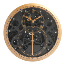Уникальные часы с нерегулярным механизмом для отделки стен