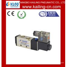 Pneumatic Solenoid valve/Two-position Five-way pneumatic air valve /Aluminum Alloy Pneumatic Solenoid Valve