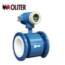 Medidor de flujo de agua electromagnético líquido impermeable conduciendo de IP65 IP67 IP68