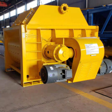 Twin shaft self-loading concrete mixer in Africa