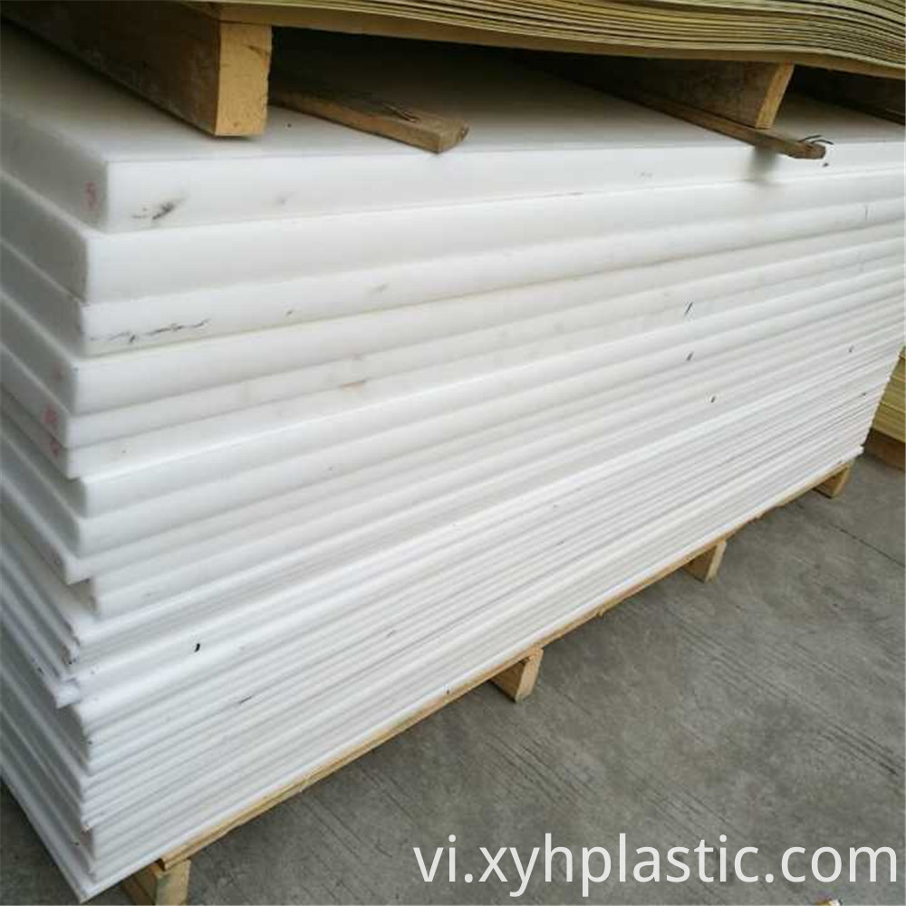 White Polyethylene Sheet