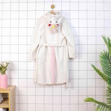 Unisex de franela unicornio albornoces con capucha regalos para niñas