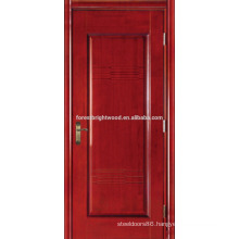 Cherry Veneered Painted Hotel Doors Carved Interior MDF Doors