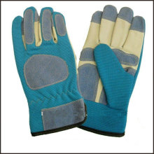 Pig Skin Anti-slip leather Garden Gloves