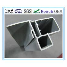 Perfil de extrusão de PVC para construção