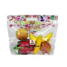 High Quality Transparent Plastic Bag Customized Packaging Bag for Fresh Keeping Fruit Vegetables Pouch Bags