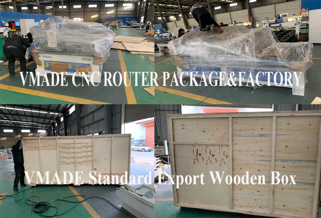 Packing And Delivery Atc Cnc Router
