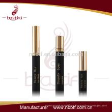 Proveedor de oro China cosméticos de aluminio conjunto más vendido de rimel tubo de lápiz labial al por mayor