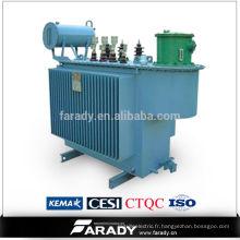 Transformateur d'huile triphasé de distribution électrique 35kv