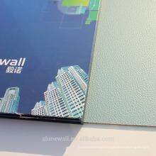 20 year warranty High quality Alunewall Embossed PVDF coated aluminum composite panel 3mm/4mm/5mm