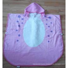 (BC-KB1006) Caliente-Vende el algodón 100% suave suave Terry embroma el Bathrobe lindo