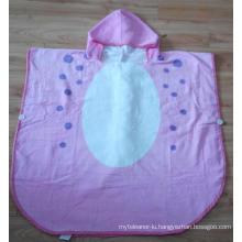 (BC-KB1006) Hot-Sell Ultra Soft 100% Cotton Terry Kids Cute Bathrobe