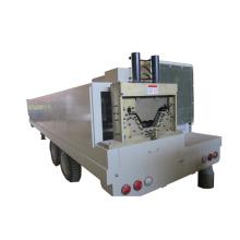 SX-ACM-914-650 k curving colored steel warehouse quick span machine