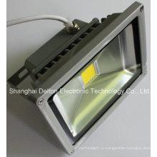 10W гибкий водонепроницаемый COB светодиодный свет потока