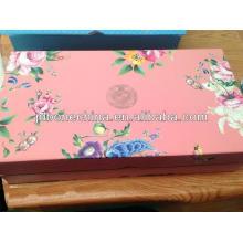 Porcelana promocional de cumpleaños té de café de China porcelana en caja de regalo