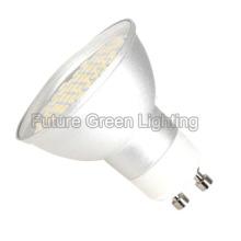 GU10 bombilla del LED / luz de bulbo de GU10 LED (cáscara de aluminio, 48PC 3528SMD)