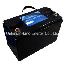 12V100ah Solar System LiFePO4 Rechargeable Battery