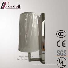 Lâmpada de parede de cabeceira de aço inoxidável de espelho para o projeto do Hotel