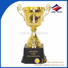 Изготовленный на заказ металл трофей награды чемпионата малый Гальваника металла трофей