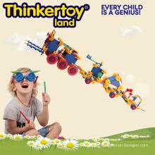 Train Model Education Toy pour 3-6 enfants