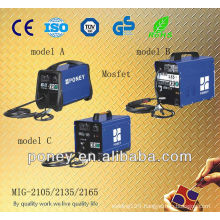 mosfet ce approved portable gas mig welding machine