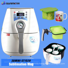 newest product 3d mini sublimation vacuum machine for sublimation mug printing