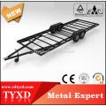 remolque de utilidad del coche de plataforma plana resistente para la venta