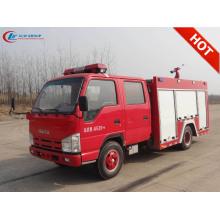 Nuevo camión de bomberos de agua ISUZU de 2500 litros