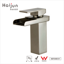 Haijun Factory Direct Deck Mounted Artistic Single Handle torneira de água da lavatório de bronze