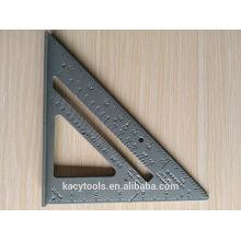 "Alumínio Velocidade Square 7 ""Angle Protractor"