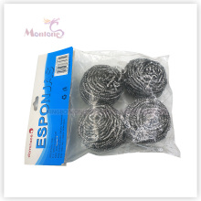 6*3cm Houselhold Kitchen Cleaning Pot Scourer Stainless Steel Cleaning Ball