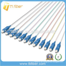 Cuerpo de 12 fibras de fibra óptica Pigtail SC