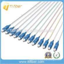 Indoor 12 Fiber Cores Fiber Optic Pigtail SC