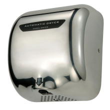 CE RoHS Low Noise Motor High Speed Fast Drying Stainless Steel Automatic Hand Dryer