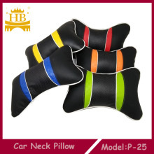 PU cuero Car Neck Pillow