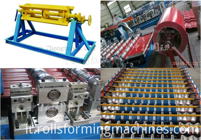 Corrugated board roll forming machine (25)