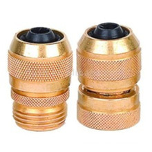 """3/4"""" Brass Male& Female Hose Connector"""