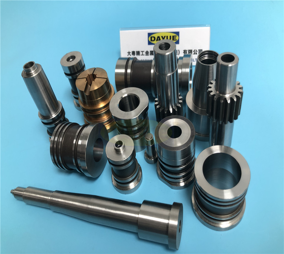 Beryllium copper material mold parts blow mold cavity china mould parts manufacturer supplier