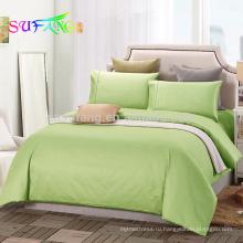 300TC хлопок чистый цвет отель постельных принадлежностей