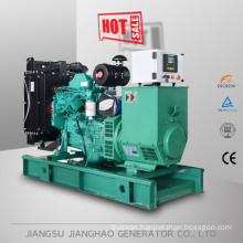 50kva soundproof genset with fuel tank at the bottom of frame