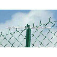 Raccordement de la chaîne Fencing / chain link fence