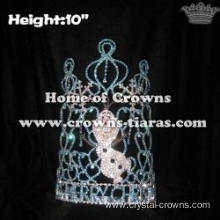 Wholesale Custom Crystal Olaf Christmas Pageant Crowns