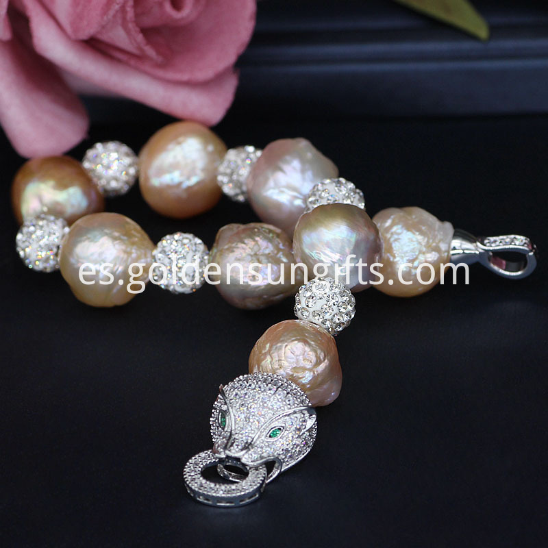 New Baroque Pearl Bracelets
