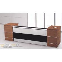Diseño barato de la manera del escritorio de recepción de los muebles de Kintop para el estilo KM925