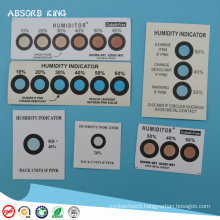 Factory supply PCB moisture indicator paper and stickers