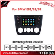 Pure Android 5.1 Quad Core Lecteur DVD pour BMW E81 / 82/88 Radio Bt Lecteur DVD pour voiture Télécommande universelle